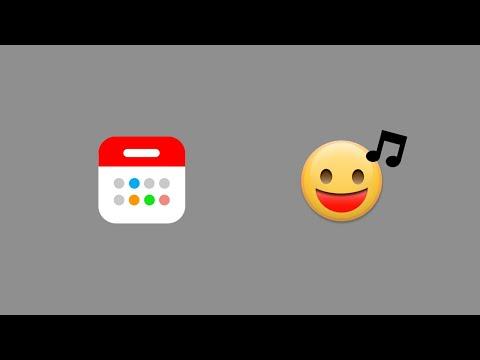 App演示:新日历 (简体)