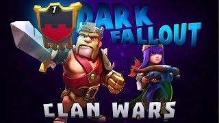 Clash of Clans - Dark Fallout Clan War Episode 24 - 25 War Recap