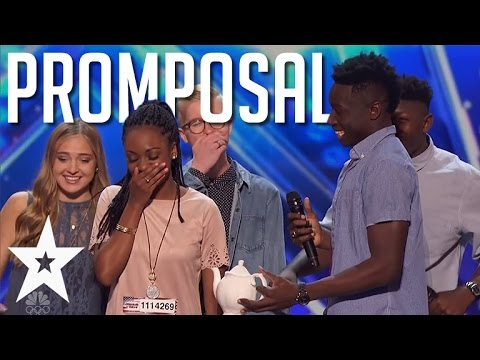 Guy Asks Acapella Bandmate To Prom On America's Got Talent Mp3
