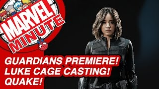 Luke Cage Casting! Quake! Guardians Premiere! - Marvel Minute 2015
