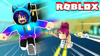 BECOMING THE FASTEST RUNNER IN THE WORLD! Roblox Speed Race Challenge