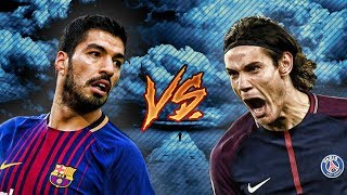 Suarez vs Cavani - Who is the Best? - Skills & Goals 2018 | HD