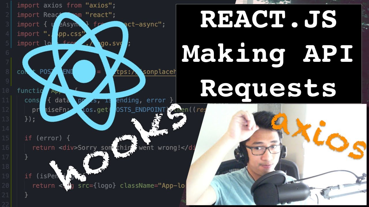React JS: How To Get Data From An API With Hooks and Axios