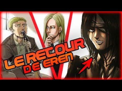 LE SUICIDE DE REINER ?! ET LE RETOUR DE EREN !  REVIEW L'ATTAQUE DES TITANS CHAPITRE 97