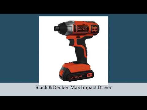 5 Best Impact Driver To Buy 2018 - Impact Driver Reviews