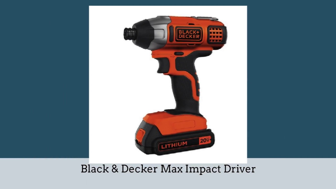 5 Best Impact Driver To 2018 Reviews