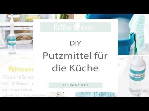 DIY Putzmittel selbst gemacht für die Küche | zero waste