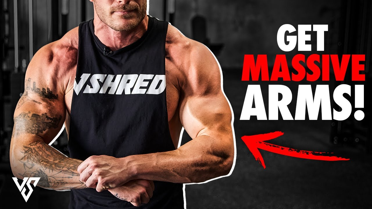 Biceps & Tricep Exercises For MASSIVE ARMS! (Arm Day Workout)