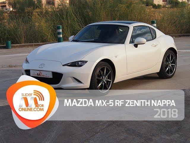 Mazda MX-5 RF 2018 / Al volante / Prueba dinámica / Review / Supermotoronline.com