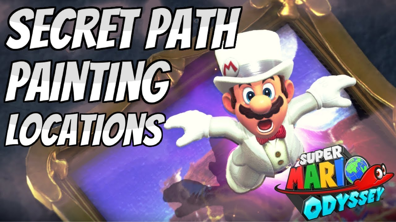 All Hidden Painting Locations In Super Mario Odyssey