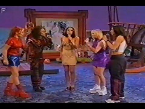 Spice Girls - Wetten Dass Interview & 'Mama' Performance (1997)
