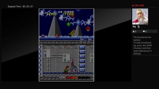 Arcade Archives Cosmo Police Galivan  (PS4) One Credit Game Sample