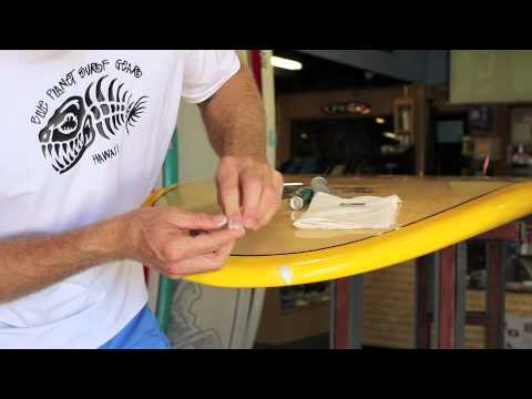 Easy Board repair: Ding Stick instructions