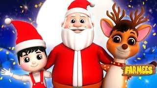 Christmas Everywhere | Xmas Carols & Nursery Rhymes For Kids - Farmees