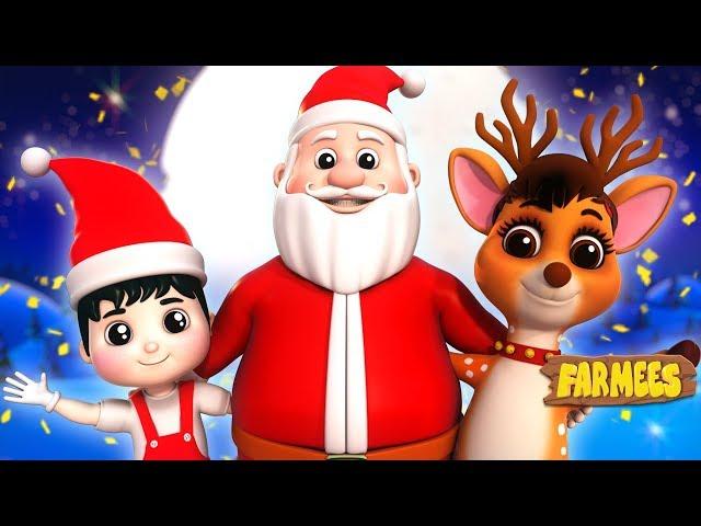 Christmas Everywhere | Xmas Carols & Nursery Rhymes For Kids - Farmees
