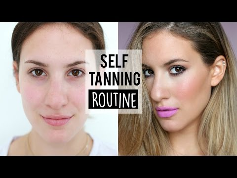 My Self-Tanning Routine 2015 ♡ Ft. Million Dollar Tan Mermaid Mousse Extreme | JamiePaigeBeauty