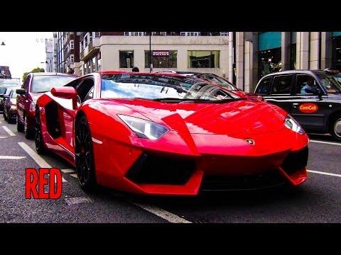 Rosso Mars Lamborghini Aventador W Sports Exhaust Youtube