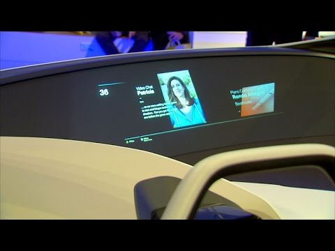 Cars roll into CES with holograms, voice controls and autonomous features