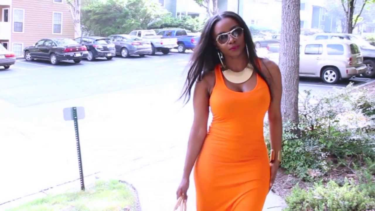 Ootd Fitted Maxi Dress Perfect For Curvy Girls Youtube
