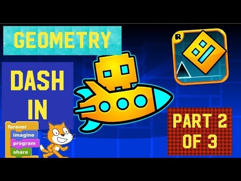 How To Make Geometry Dash In Scratch (2 Of 3): Character Jumping
