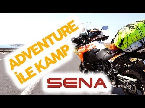 KTM Super Adventure S ile Kamp - Gökçetepe - Kamera Sena Prism