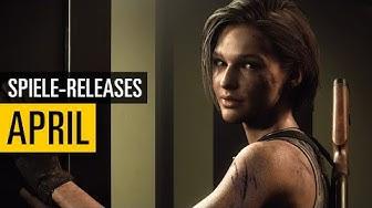 Spiele-Releases im April 2020 | Für PC, PS4, Xbox One und Switch