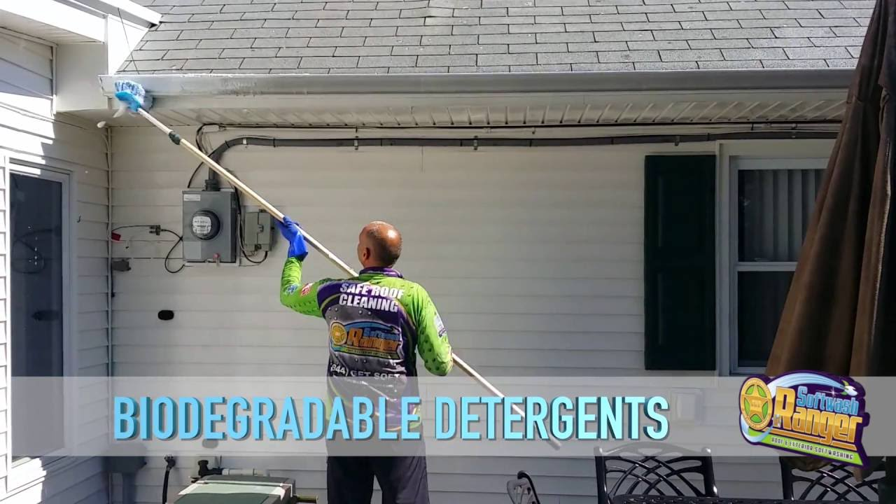 Pressure Washing Roof Cleaning Softwash Ranger Cedar