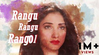 Rang Rang Rangoli  Lyric Video  Prabhudeva, Tamannaah, Amy Jackson  Vishal Mishra  Vijay