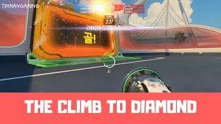 THE CLIMB TO DIAMOND - Overwatch Lucioball Ranked Gameplay