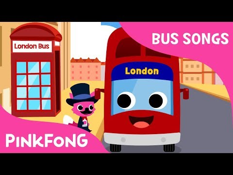 London Bus | London Tour | Bus Song | Car Song | Pinkfong Songs for Children