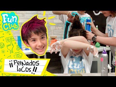 HUGO MARKER 😱💇 ¡PEINADOS LOCOS con ASPIRADORA! | Fun Club