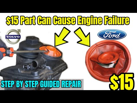 PCV Valve Failure In Ford & Volvo's – Step By Step Guide – DIY Repair