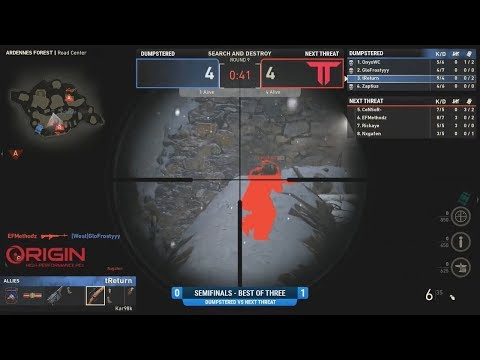 NexTThreat vs Dumpstered - Prime $2,000 4v4 Variant - Semifinals - December 1st