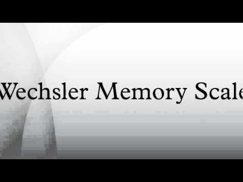 history of wechsler memory scale Get an answer for 'what is the wechsler intelligence scale for children history of development david wechsler defined intelligence as the overall capacity of an individual to act purposefully, think verbal comprehension, perceptual reasoning, working memory.