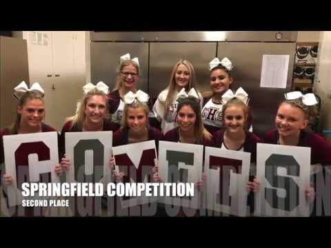 2017-2018 GHS Video Yearbook Competition Cheerleading