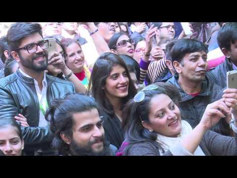 #JLF 2016: Nazm Uljhi Hui Hai Seene Mein