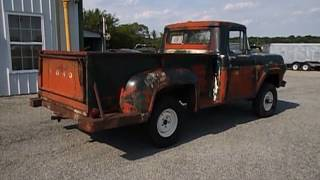 1960 FORD FACTORY 4X4 F100 PETINA TRUCK FOR SALE AT 500 CLASSIC AUTO