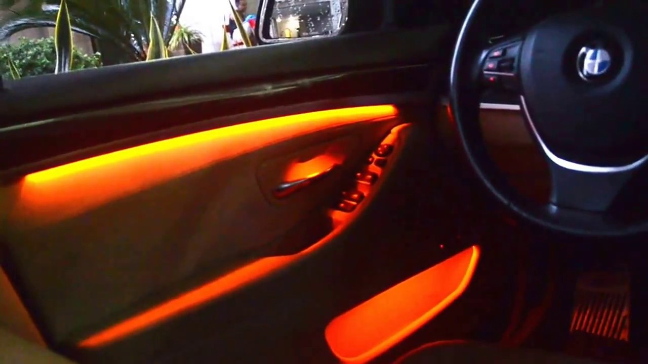 ambient lighting upgrade for bmw f10 youtube. Black Bedroom Furniture Sets. Home Design Ideas