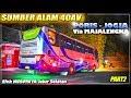 SUMBER ALAM Lewat Jalur Ekstrim | Trip Naik Bus Sumber Alam 40 AV Poris - Jogja