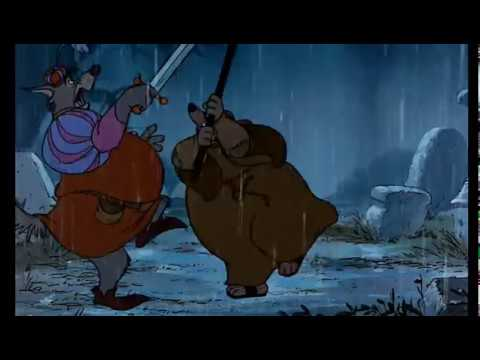 Robin Hood (1973) Friar Vs The Sheriff