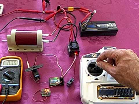 Radio commande - HK6S - ESC - Mesure du courant