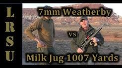 7mm Weatherby Accumark vs Milk Jug 1000 Yards in 2 Shots!