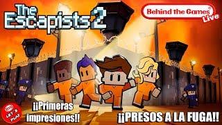 🔴 THE ESCAPISTS 2 ¡¡Presos a la Fuga!! | Nintendo Switch - Primeras Impresiones - Let´s Play - BtG