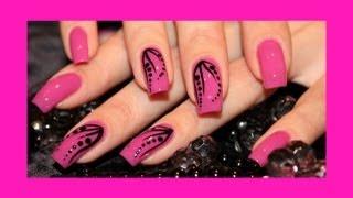 DIY EASY Nail Art Tutorial - Красивый и легкий дизайн ногтей