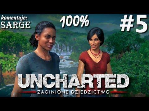 Zagrajmy w Uncharted: Zaginione Dziedzictwo (100%) odc. 5 - Fort Śiwy | 1440p