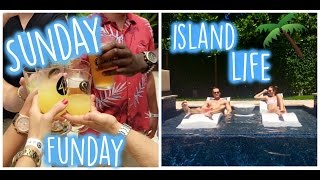 VLOG: Rooftop yoga, island party and Sunday brunch!