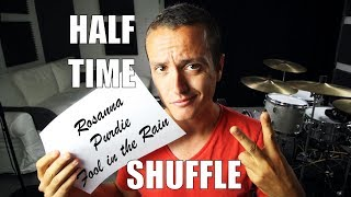 The Half Time Shuffle - Daily Drum Lesson