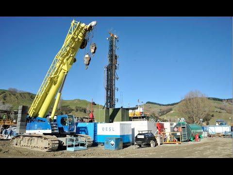 Waitangi Valley, Te Karaka - Tag Oil's exploratory well