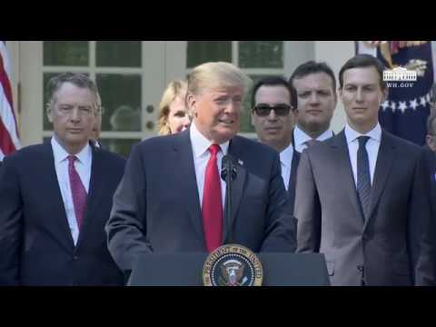 President Trump Delivers Remarks on the United States Mexico Canada Agreement