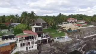 Los Farallones, la Libertad, El Salvador, boda con drone